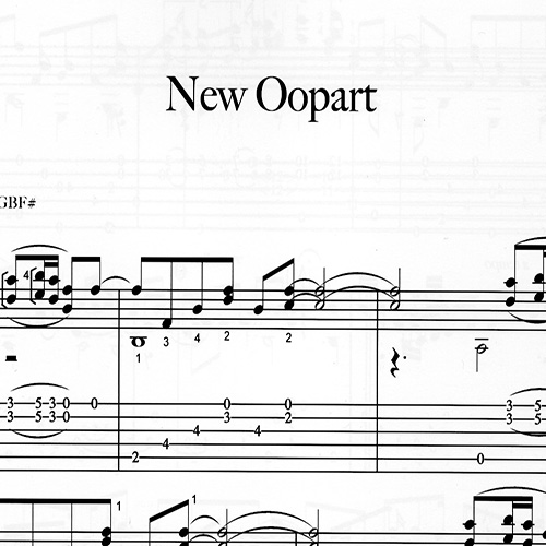 Franco Morone New-Oopart Music and tabs