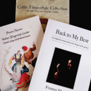Special offer of three books for fingerstyle guitar - Author: Franco Morone