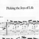Franco Morone Picking-the-Joys-of-Life Music and tabs