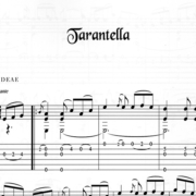 Franco Morone Tarantella Music and tabs