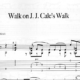 Franco Morone Walk-on-J.J.-Cale's-Walk Music and tabs