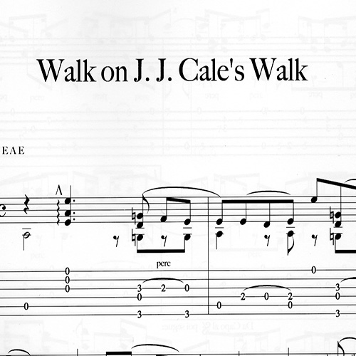 Preview_Franco Morone Walk-on-J.J.-Cale's-Walk Music and tabs